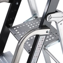 Scala doppia GIERRE Professionale in alluminio per lavori fino a 3.84 m