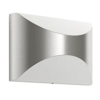 Applique Herb LED integrato in acciaio inossidabile, bianco, 6W 600LM IP44 PHILIPS