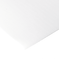 Vetro in polipropilene alveolare bianco L 100 x H 100 cm, Sp 2.5 mm