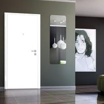 Porta blindata Bicolor noce L 90 x H 200 cm destra