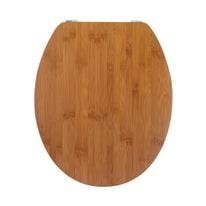 Copriwater ovale Universale WIRQUIN Casual Line legno massello bambù