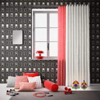 Cuscino Cilindrico rosso 20x60 cm