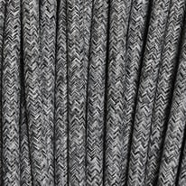 Cavo tessile MERLOTTI 2 fili x 0,75 mm² grigio 3 metri
