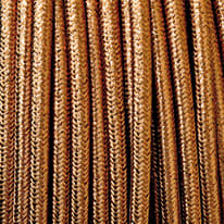 Cavo tessile MERLOTTI 2 fili x 0,75 mm² rame 3 metri