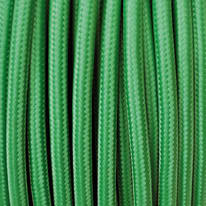 Cavo tessile MERLOTTI 2 fili x 0,75 mm² verde 3 metri