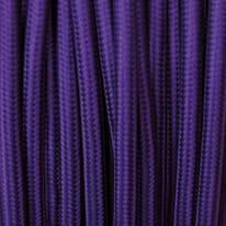 Cavo tessile MERLOTTI 2 fili x 0,75 mm² viola 3 metri