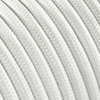 Cavo tessile MERLOTTI 2 fili x 0,75 mm² bianco 5 metri
