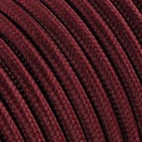 Cavo tessile MERLOTTI 2 fili x 0,75 mm² bordeaux 5 metri