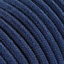 Cavo tessile MERLOTTI 2 fili x 0,75 mm² blu 5 metri