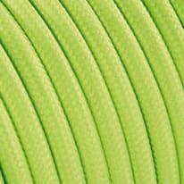 Cavo tessile MERLOTTI 2 fili x 0,75 mm² giallo 5 metri