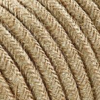 Cavo tessile MERLOTTI 2 fili x 0,75 mm² sabbia 5 metri
