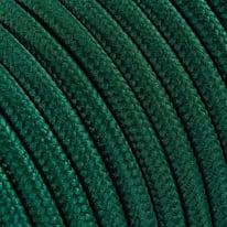 Cavo tessile MERLOTTI 2 fili x 0,75 mm² petrolio 5 metri