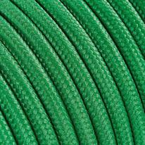 Cavo tessile MERLOTTI 2 fili x 0,75 mm² verde 5 metri