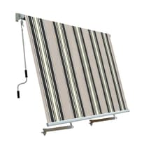 Tenda da sole a caduta con rullo 245 x 245 cm verde