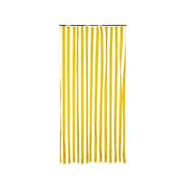 Tenda da sole ad anelli 200 x 300 cm giallo