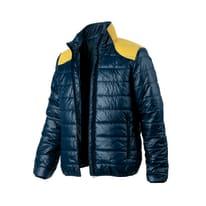 Giacca a vento imbottita Light Mesh Tg XL blu giallo