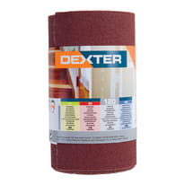 Rotolo di carta abrasiva DEXTER grana 120