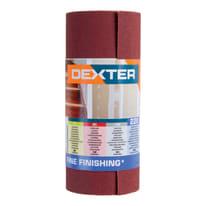 Rotolo di carta abrasiva DEXTER grana 220