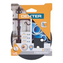 Disco abrasivo velcro ® multiforato DEXTER grana 280