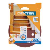 Disco abrasivo velcro ® multiforato DEXTER grana 220