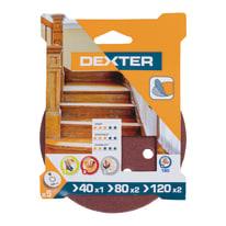 Disco abrasivo velcro ® multiforato DEXTER grana Assortita
