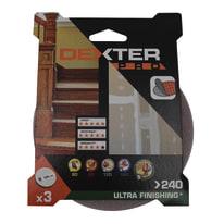 Disco abrasivo velcro ® DEXTER PRO grana 240