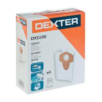 Sacchetto di aspirazione DEXTER DXS 100 sintetico 20 L 4 pezzi