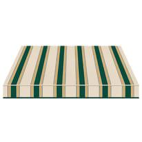 Tenda da sole a bracci estensibili manuale TEMPOTEST PARA' L 240 x H 210 cm verde, giallo, avorio Cod. 635/8