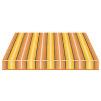 Tenda da sole a bracci estensibili manuale TEMPOTEST PARA' L 240 x H 210 cm blu, giallo, avorio, marrone Cod. 773/54