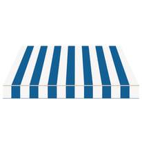 Tenda da sole a bracci estensibili manuale TEMPOTEST PARA' L 300 x H 210 cm avorio, blu Cod. 419
