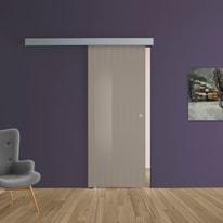 Porta scorrevole con binario esterno Cedar in vetro Kit A L 88 x H 215 cm sx