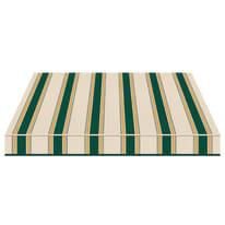 Tenda da sole a bracci estensibili manuale TEMPOTEST PARA' L 300 x H 210 cm verde, giallo, avorio Cod. 635/8
