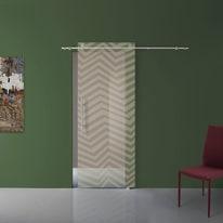 Porta scorrevole con binario esterno Grafic 2 in vetro Kit B L 88 x H 220 cm dx