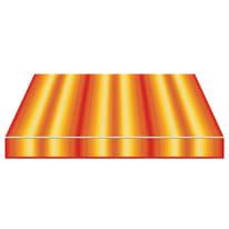 Tenda da sole a bracci estensibili manuale TEMPOTEST PARA' L 300 x H 210 cm arancione, grigio, marrone, rosso Cod. 963/55