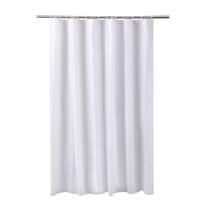 Tenda doccia Funky in vinile bianco L 180 x H 200 cm