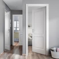 Porta pieghevole Dubhe bianco L 80 x H 210 cm destra