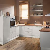 Cucina in kit DELINIA frame bianco