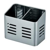 Porta utensile in acciaio grigio 15.7 x 13 x 9 cm