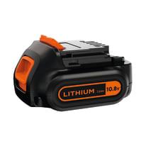 Trapano avvitatore a batteria BLACK+DECKER BDCDD12KB-QW, 10,8 V1.5 Ah, 2 batterie