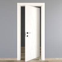 Porta rototraslante Blades White bianco L 80 x H 210 cm destra