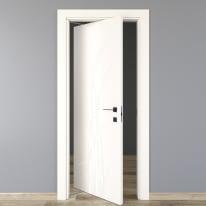 Porta rototraslante Blades White bianco L 70 x H 210 cm sinistra