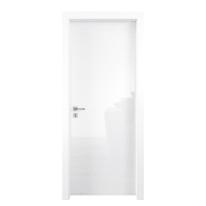 Porta a battente Bright bianco L 80 x H 210 cm reversibile