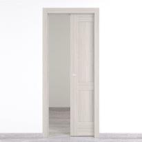 Porta scorrevole a scomparsa Cape Side palissandro L 80 x H 210 cm reversibile