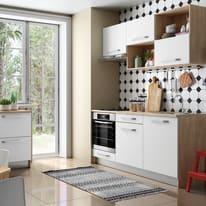 Cucina in kit DELINIA one bianco L 180 cm