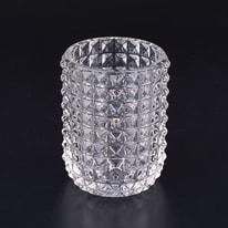 Bicchiere porta spazzolini Crystal in vetro trasparente
