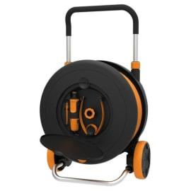 Avvolgitubo equipaggiato Fiskars water Wheel L con ruote, 30m