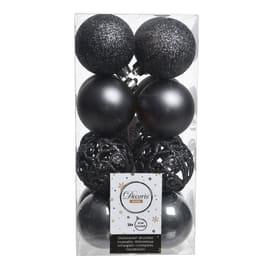 Box sfere grigio antracite ø 6 cm