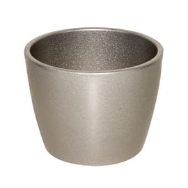 Portavaso Stella ø 35 cm argento