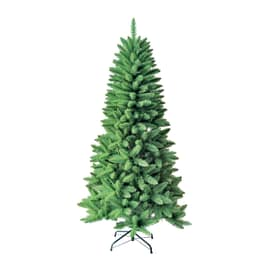 Albero Di Natale Slim 210.Albero Di Natale Vero O Artificiale Leroy Merlin