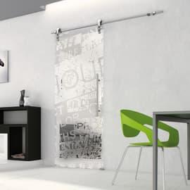 Porta da interno scorrevole Vogue/binario Lux 96 x H 215 cm sx